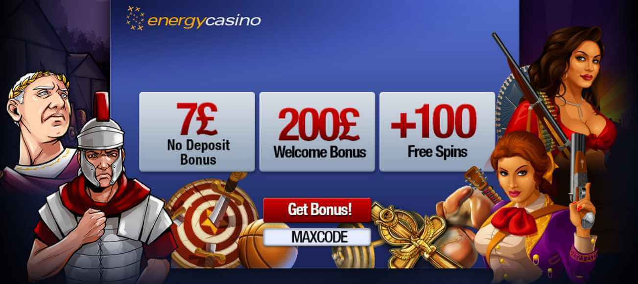 energy casino no deposit promo code