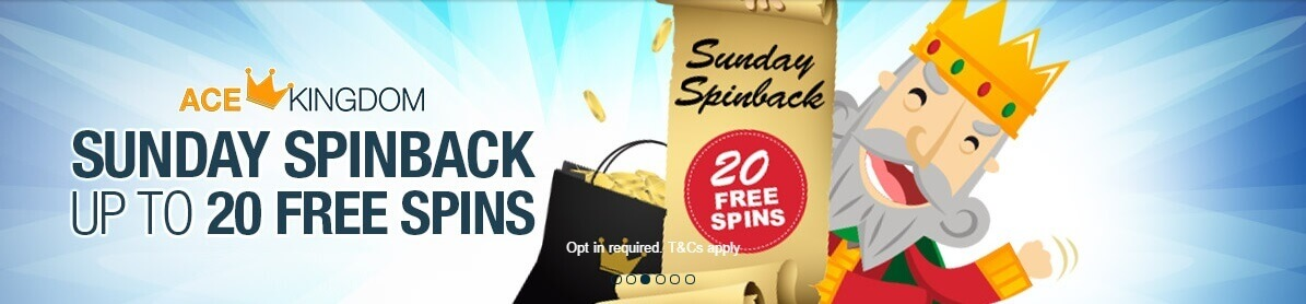 Ace Kingdon free spins