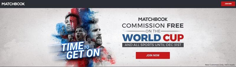 Matchbook welcome offer