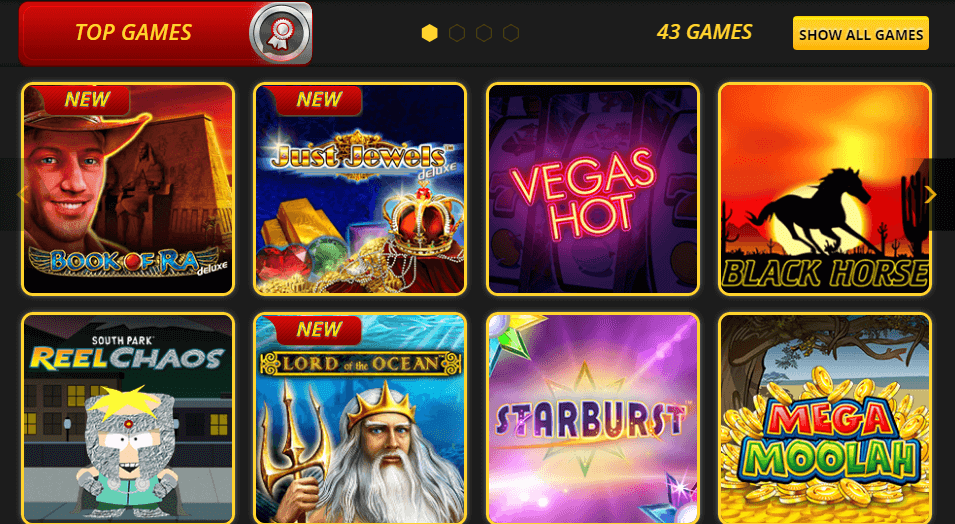 Top Games at Lvbet Casino