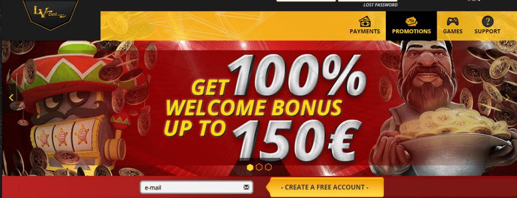 lvbet bonus code