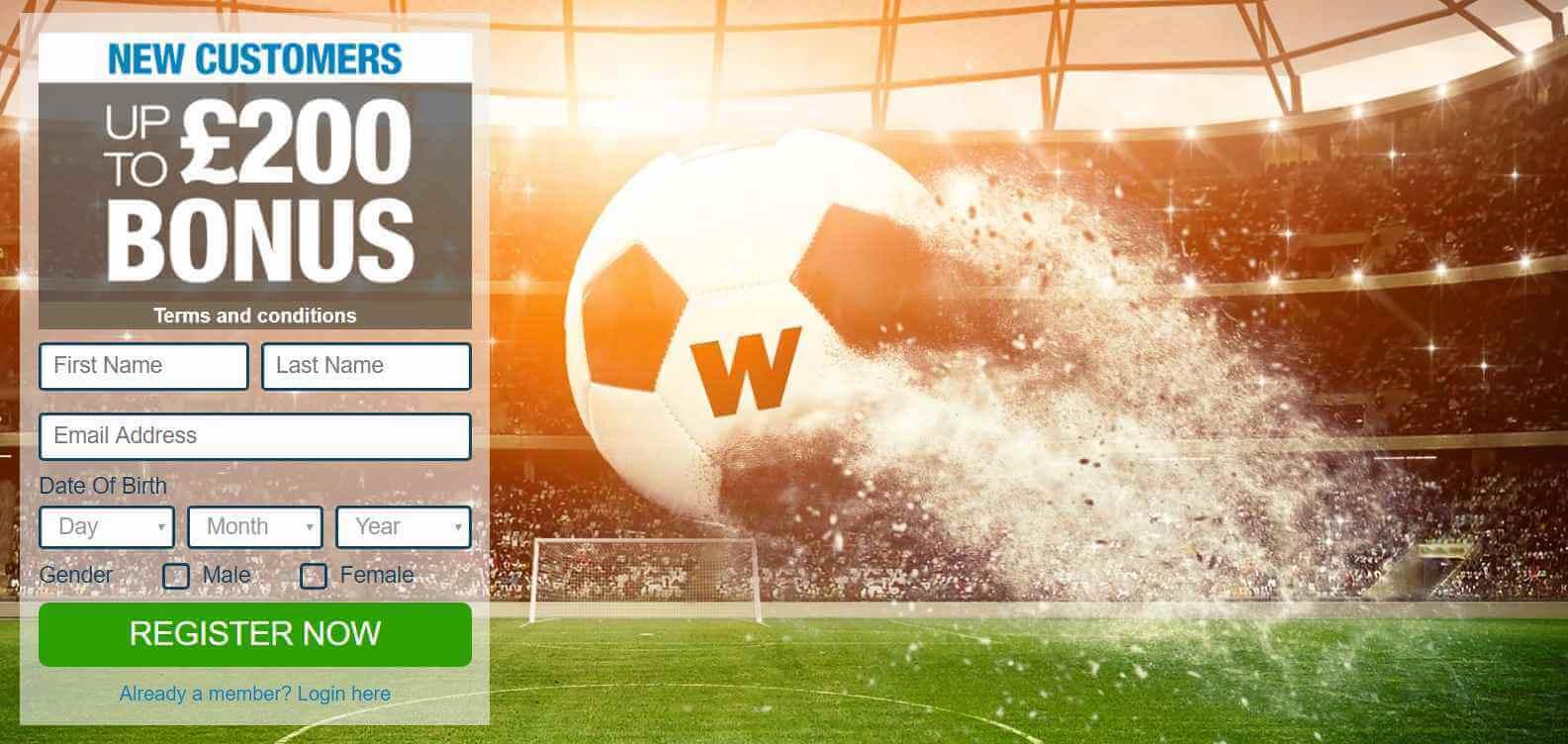 Winner welcome offer sports