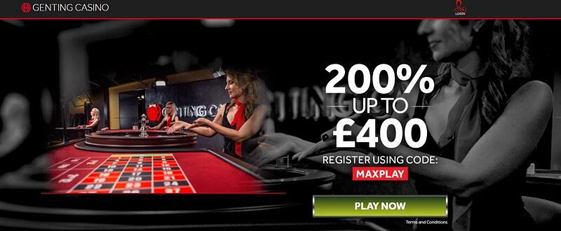 Genting Casino promotion code bonus