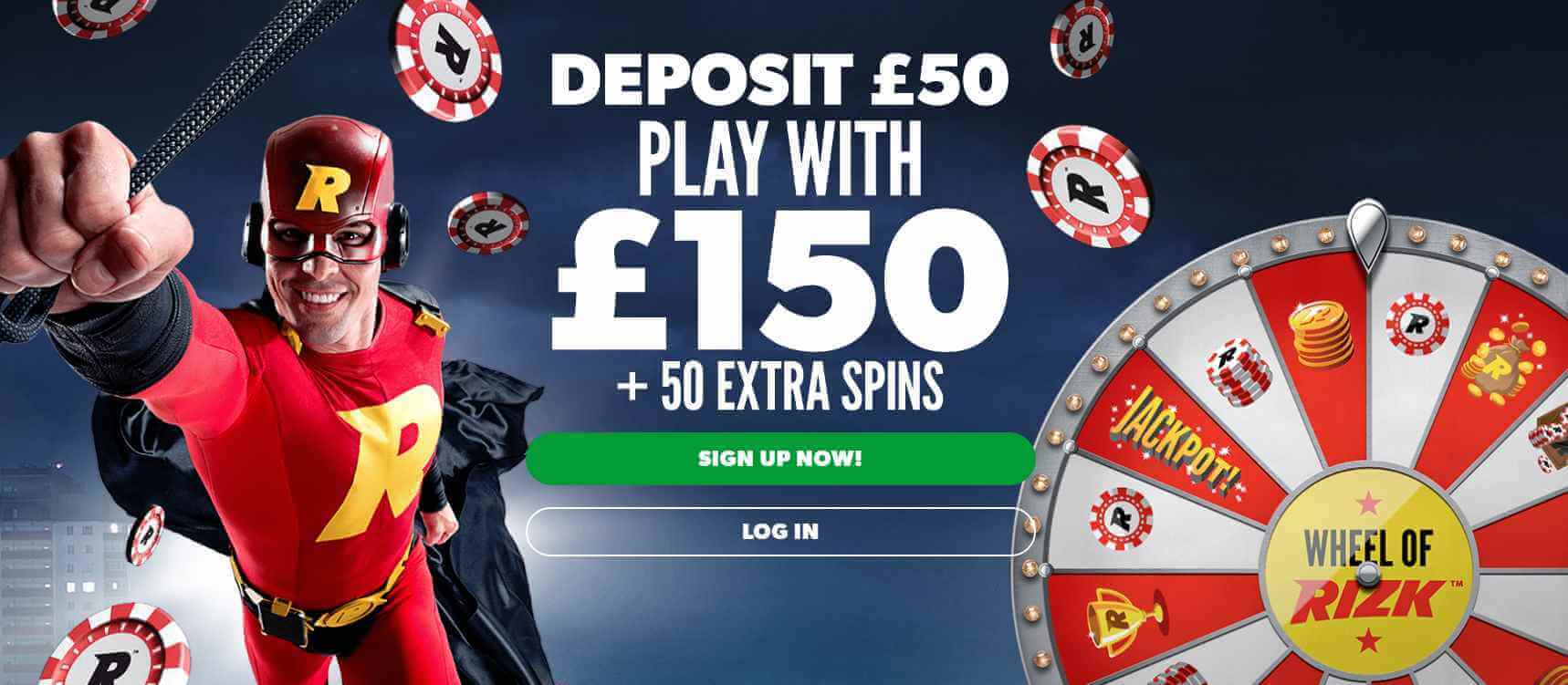 Rizk Casino Welcome Offer