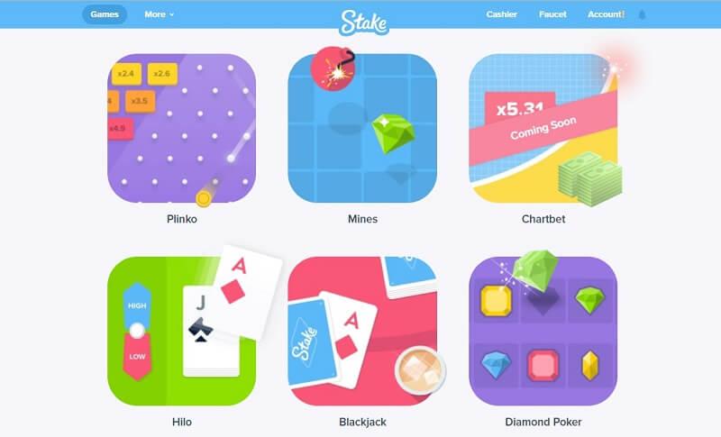 Stake Casino Games