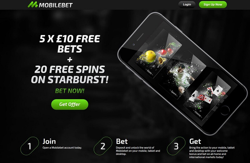 Mobilebet promotion