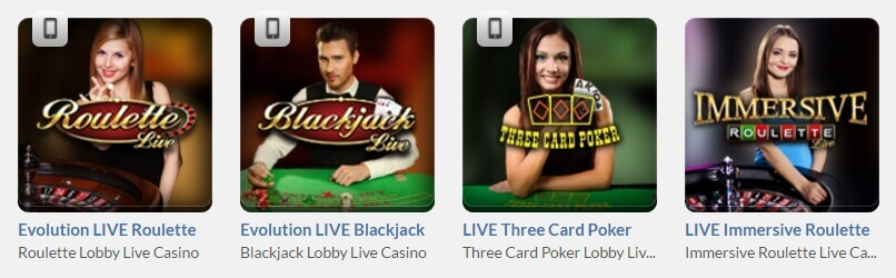 Get Lucky live casino