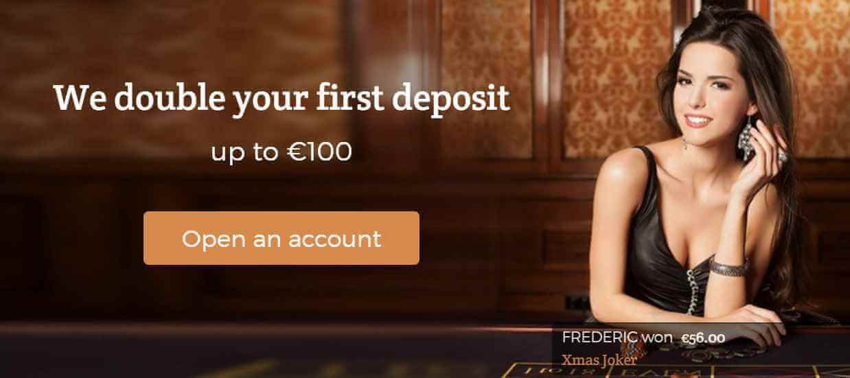 Welcome bonus with the Dublinbet bonus code