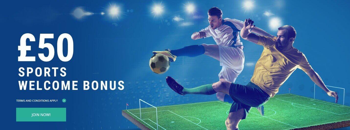 Sportingbet sports welcome bonus