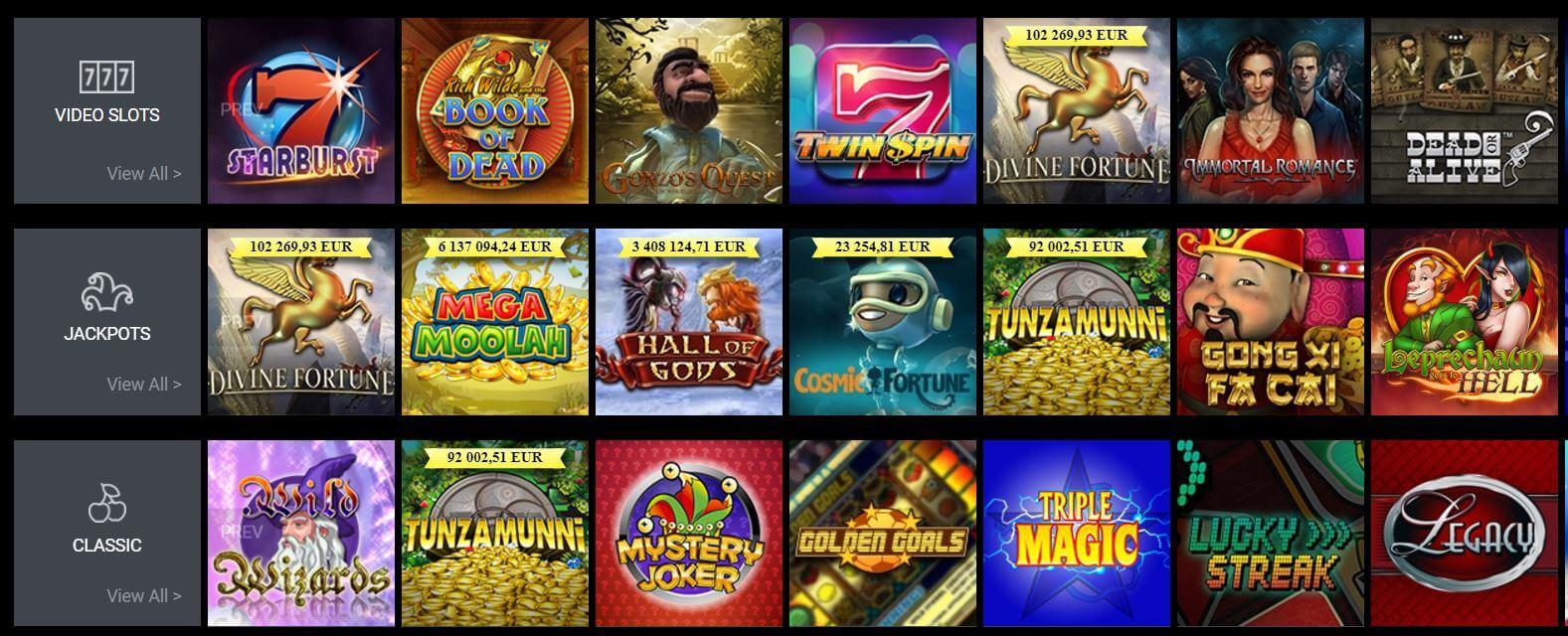 Viks Casino Games