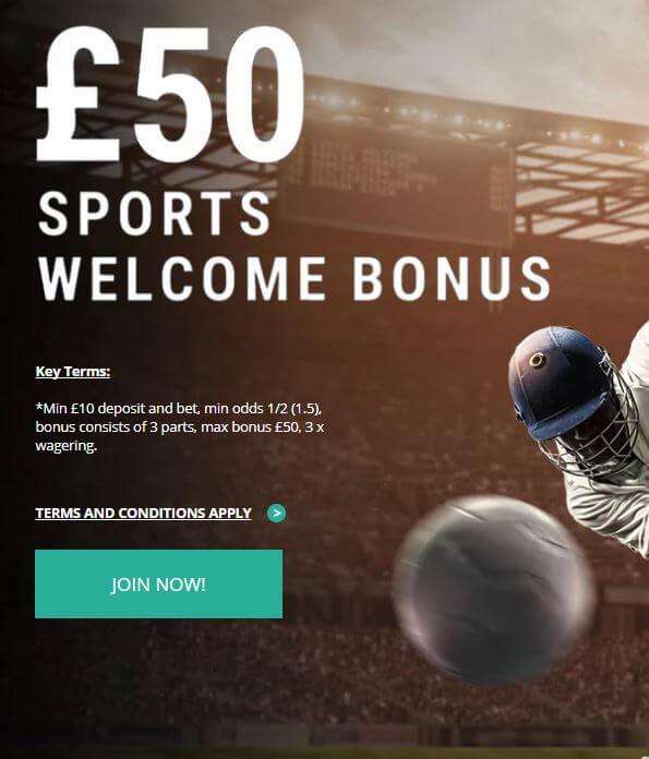 Sportingbet New Customer Offer