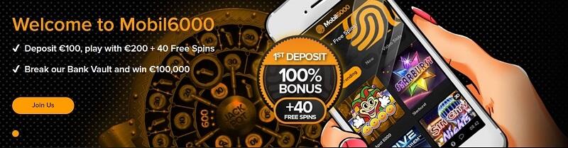 Mobil6000 casino weekend bonuses - Mobil6000