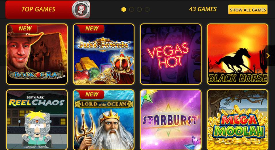 Top Games at Lvbet Casino