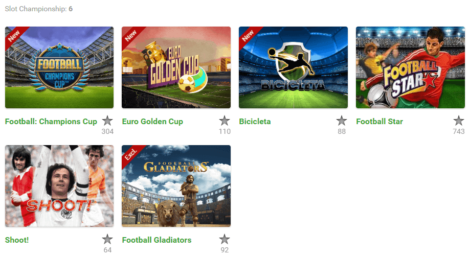 slot championships games