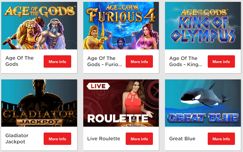 Sun Bets Casino Games