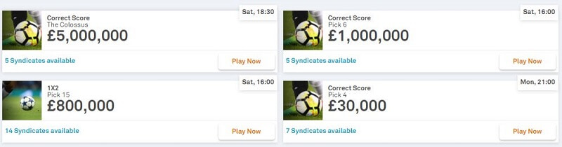 ColossusBets Jackpots