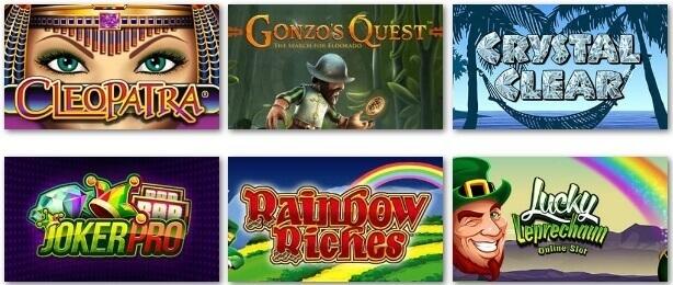 Jackpot Jones popular games