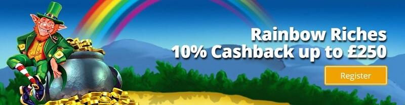 Cashino Cashback bonus