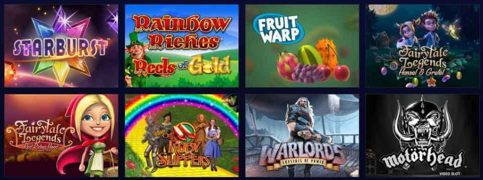 Foxy Casino Games