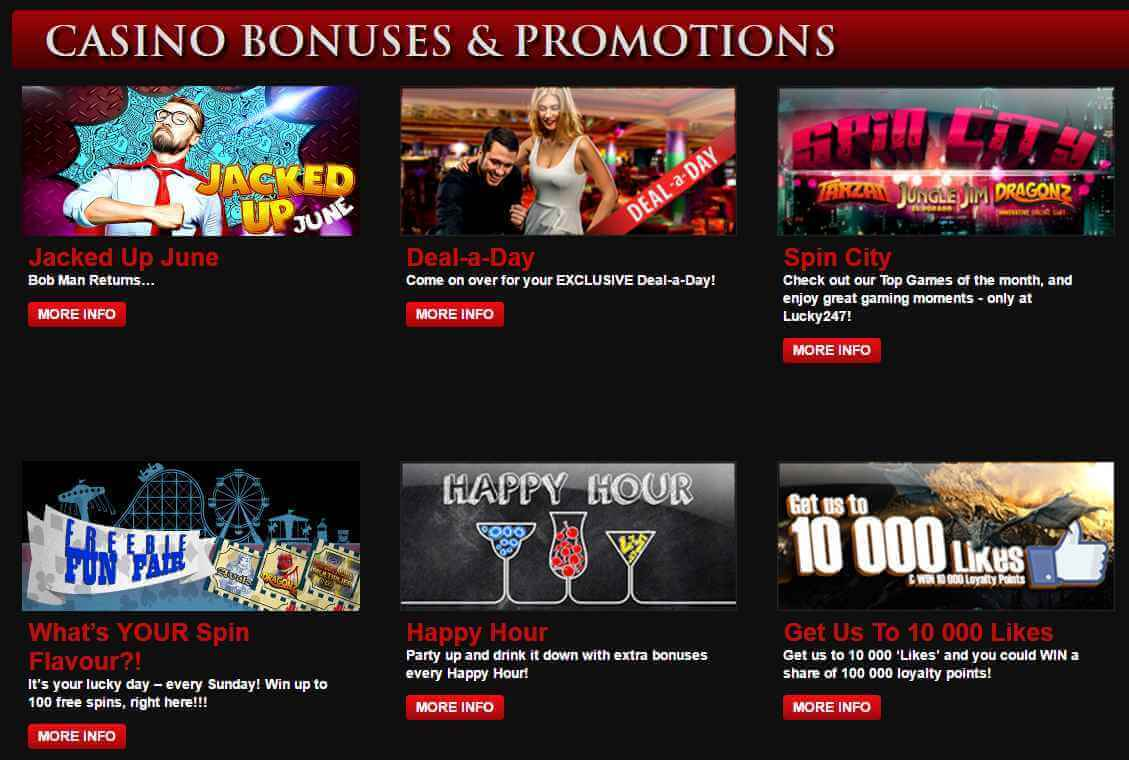 Lucky247 promotions