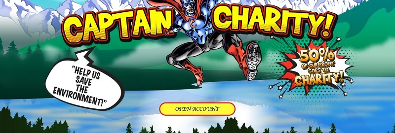 Capitan Charity Sign Up