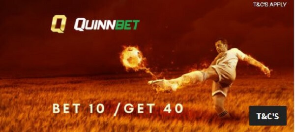 Quinnbet coupon code bonus
