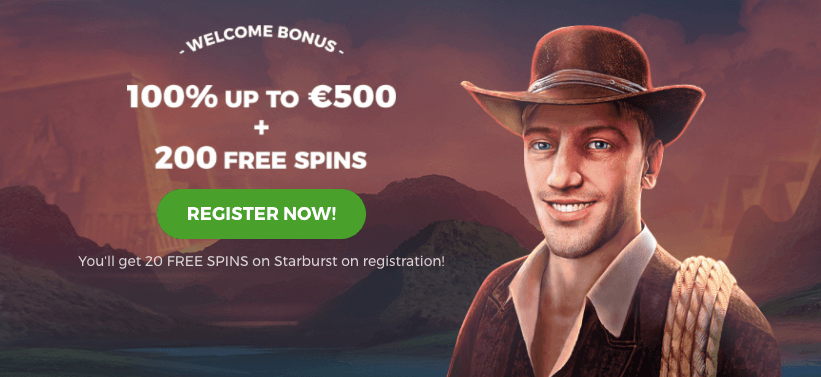 Spintastic Welcome Bonus Offer