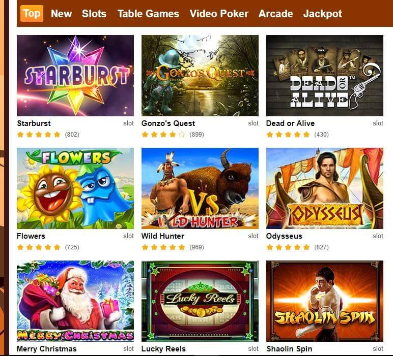 Grand Wild Casino Games