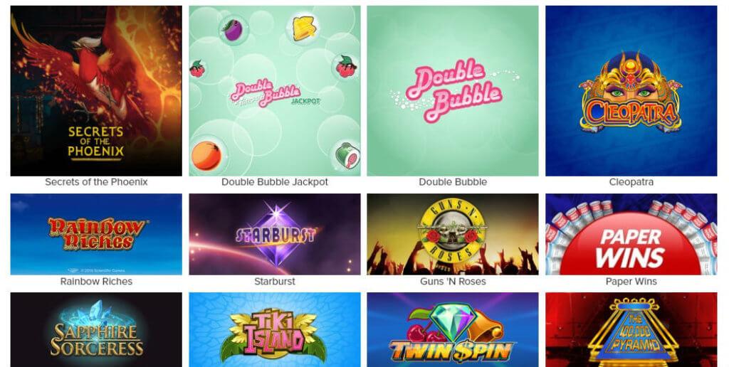 virgin games slots