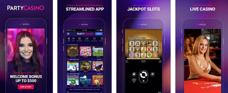 Party Casino NJ Mobile