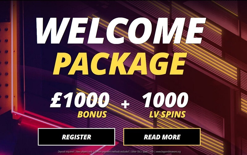 LVBet welcome Package