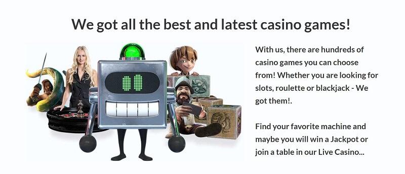 GetLucky Casino Games
