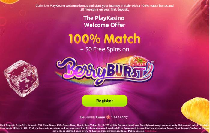 Play Kasino Bonus