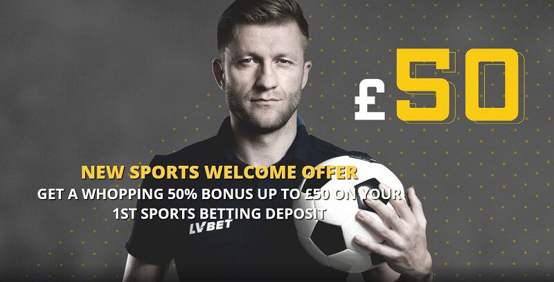LVBet welcome bonus