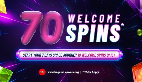SpaceCasino Welcome Offer