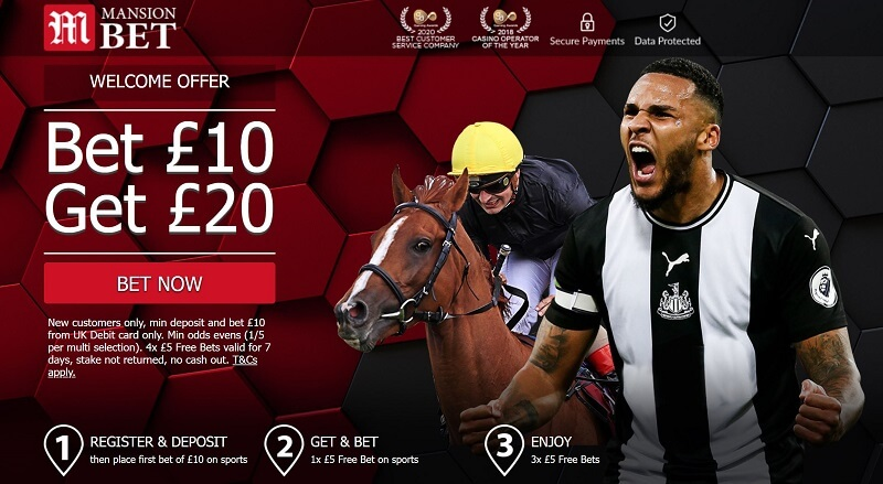 MansionBet welcome offer
