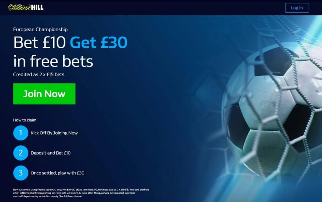 William Hill Promotional Code 2021