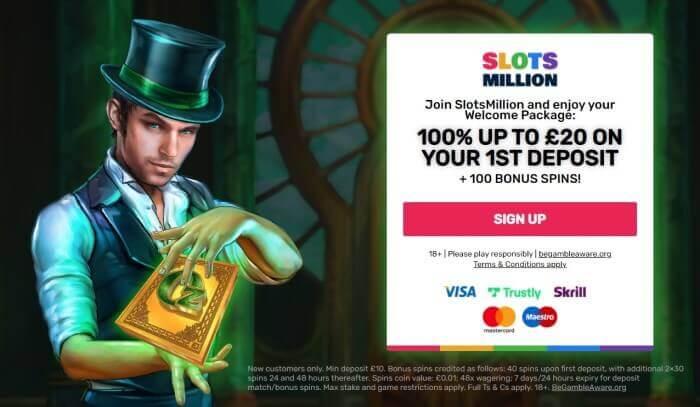 SlotsMillion Promotion Code