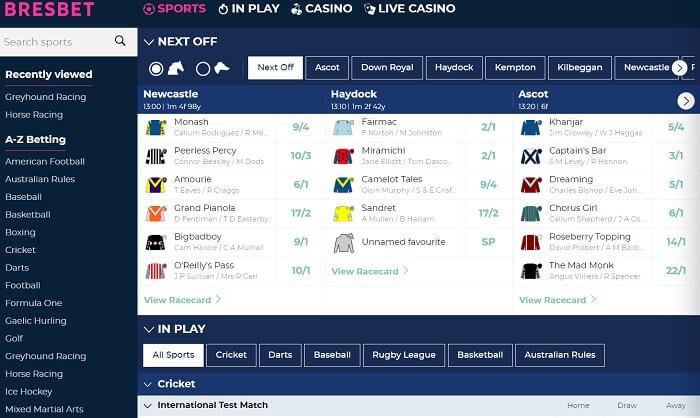 BresBet Promo Code Sports Betting